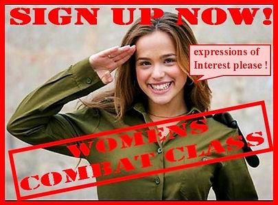 womens-Combat Class