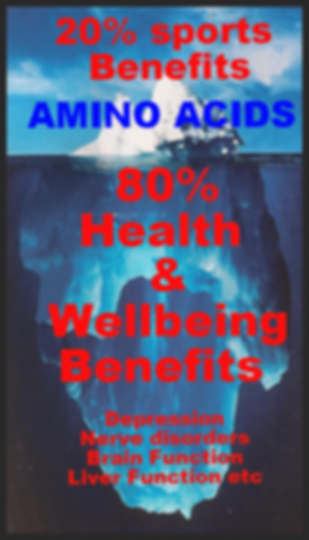 20% Sports 80% Health & Wellbeing