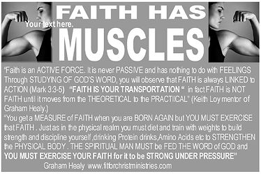 FAITH HAS MUSCLES