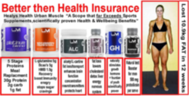 Better then HEALTH INSURANCE-Amino Acid Tonic