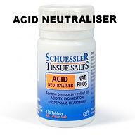 Dr Schuessler's cell salts recommended by Graham Healy