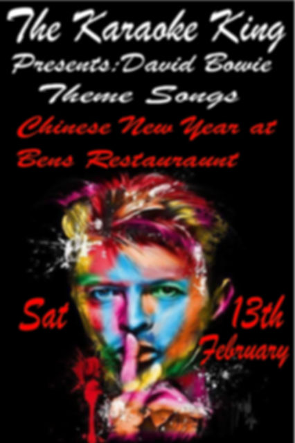 Chinese New Year David Bowie by the Karaoke King