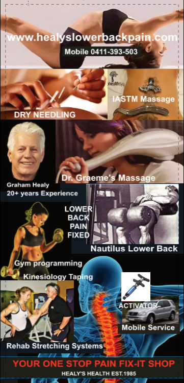 healy's lower back pain