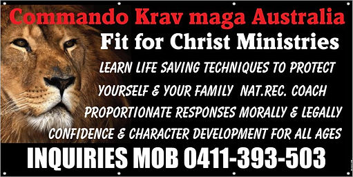 Commando Krav Maga -Fit For Christ