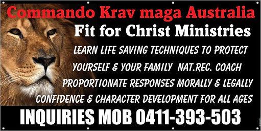 Commando Krav Maga -Fit For Christ