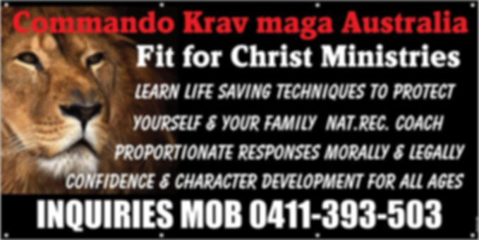 Commando Krav Maga Australia/Fit For Christ Ministries