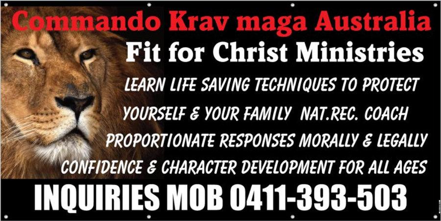 Commando Krav Maga Australia Web site