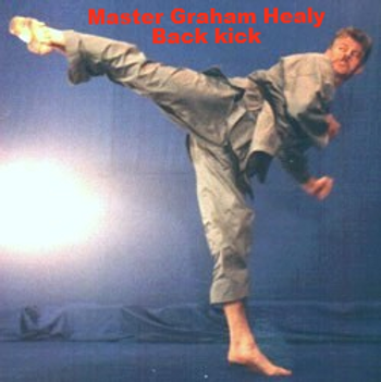 Graham Healy Back Kick