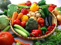 Vegetables High Fiber and Vitamins