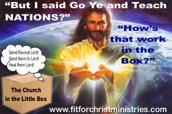 church in the little box