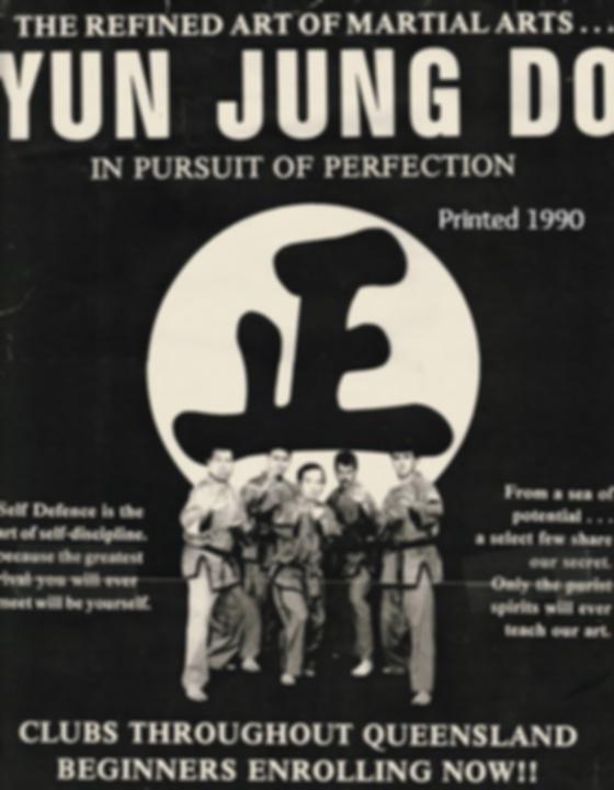 Original Yun Jung Do Poster 1990
