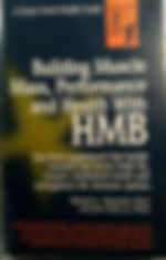 HMB by Richard J Passwater PhD and John Fuller