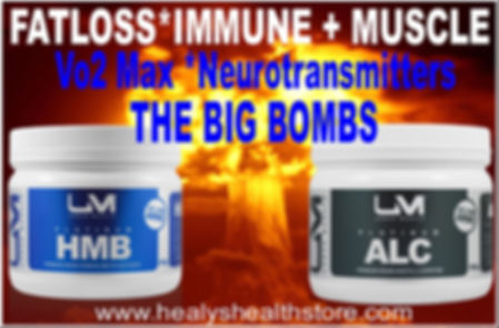 ALC & HMB the BIG BOMBS in Amino Acids