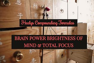 Healys Brain Power & Total Focus