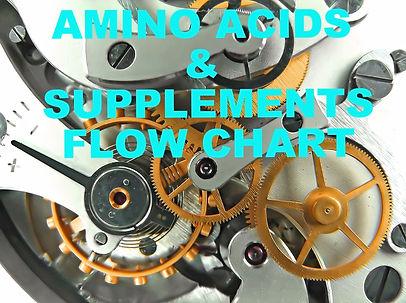 Amino Acids & Supplements Flow Chart