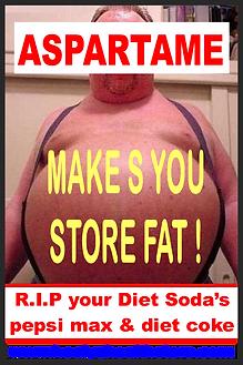 Aspartame Makes you FAT