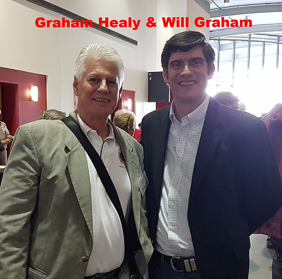 Graham Healy and Will Graham