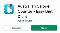 australia diet diary