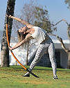 Stick Mobility bow and arrow