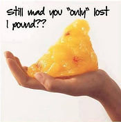 lost a pound of FAT