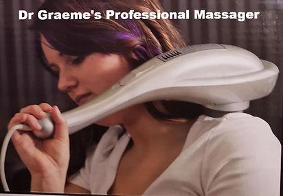 Dr Graemes Professional Massager