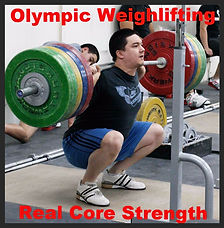 Olympic Weights /Real Core Strength