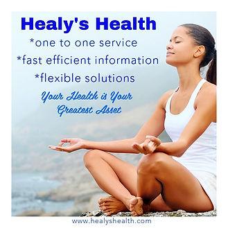 Healys Health Philosophy