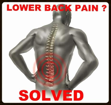 Lower Back pain solved