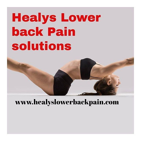 Healys Lower Back pain