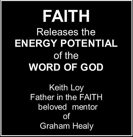 Faith Energy Potential Keith Loy