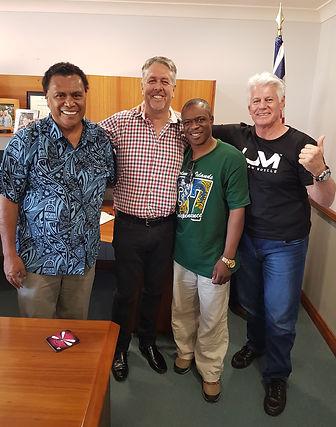Enock Bula, David Welsh(KCM) Tom James ,Emanuel Yakubu