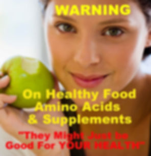 Healthy Food Amino Acids Supplements