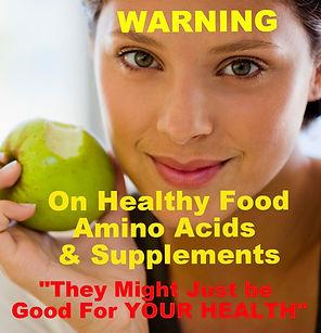 Healthy Food Amino Acids Supplements