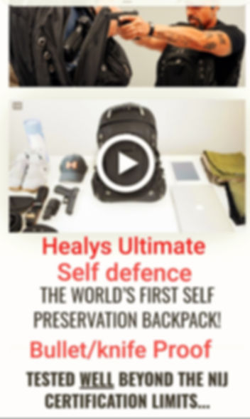 BULLET PROOF BACK PACK