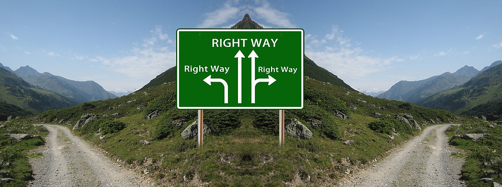 Which way is the 'right' way?