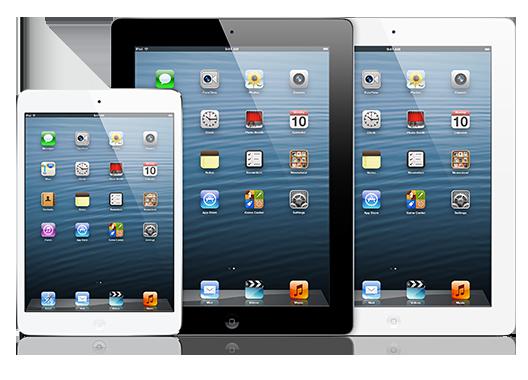 iPad Screen Repair 2,3,4-$100              Mini 1-$120           Mini 2-$180            Air 1-$120