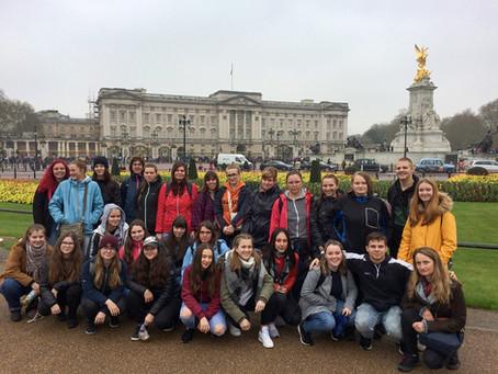 Exkurze do Anglie