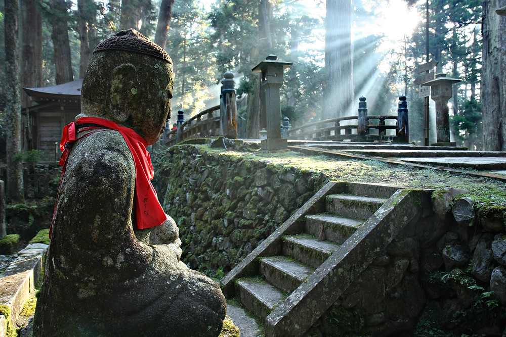 The largest cemetery in Japan.