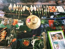 Bangkok Floating Market Street Food