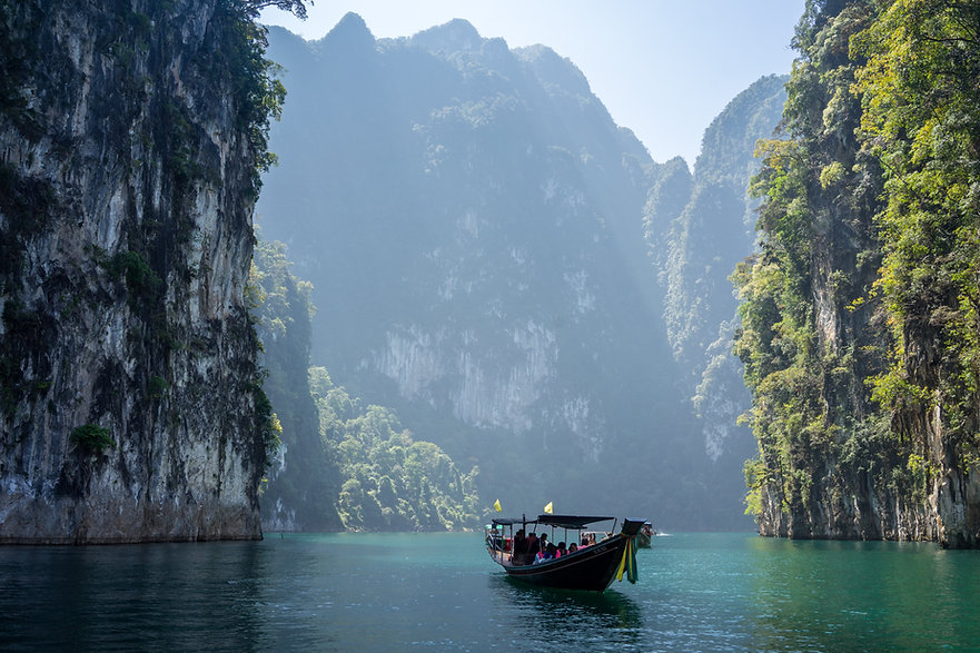 Khao Sok National Park, Khlong Sok.jpg