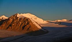 Snow Altai Tavan Bogd mountain