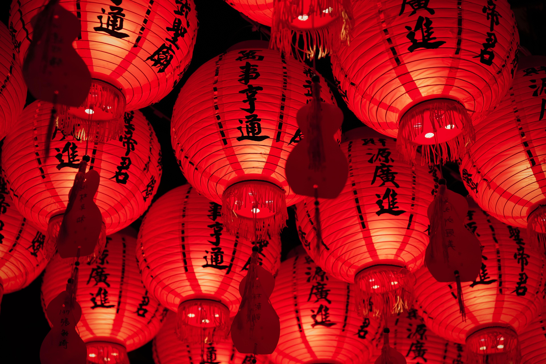Wusheng Temple Lanterns