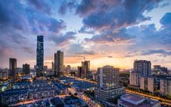 Hanoi City Skyline