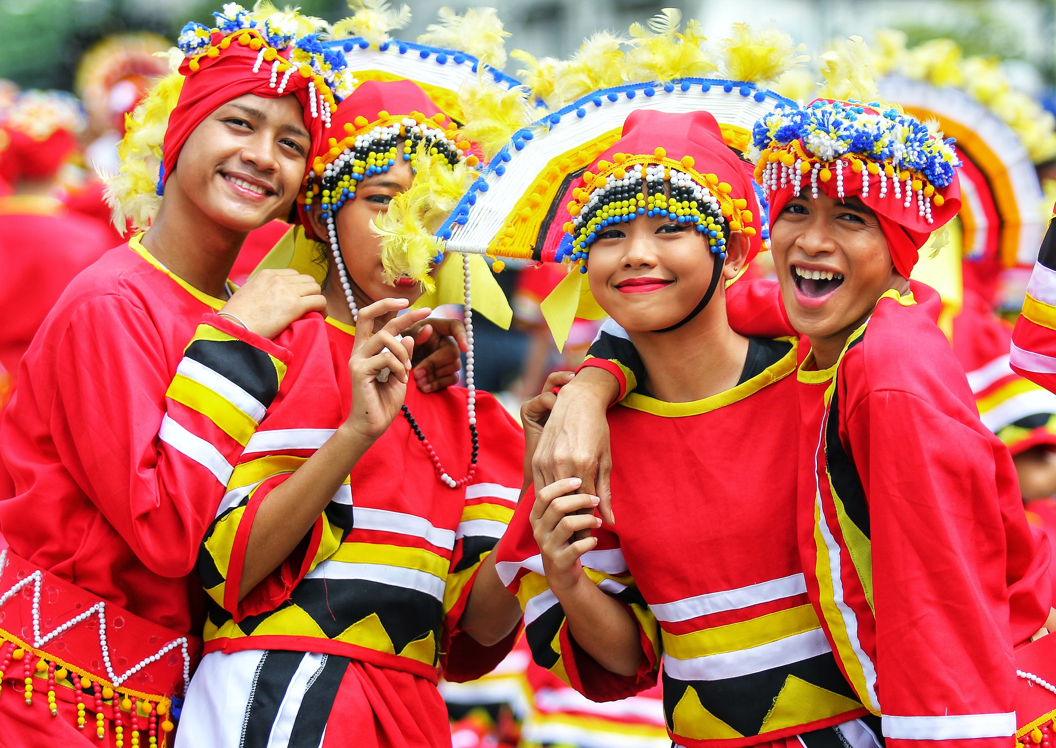 Sinulog Festival Dancers