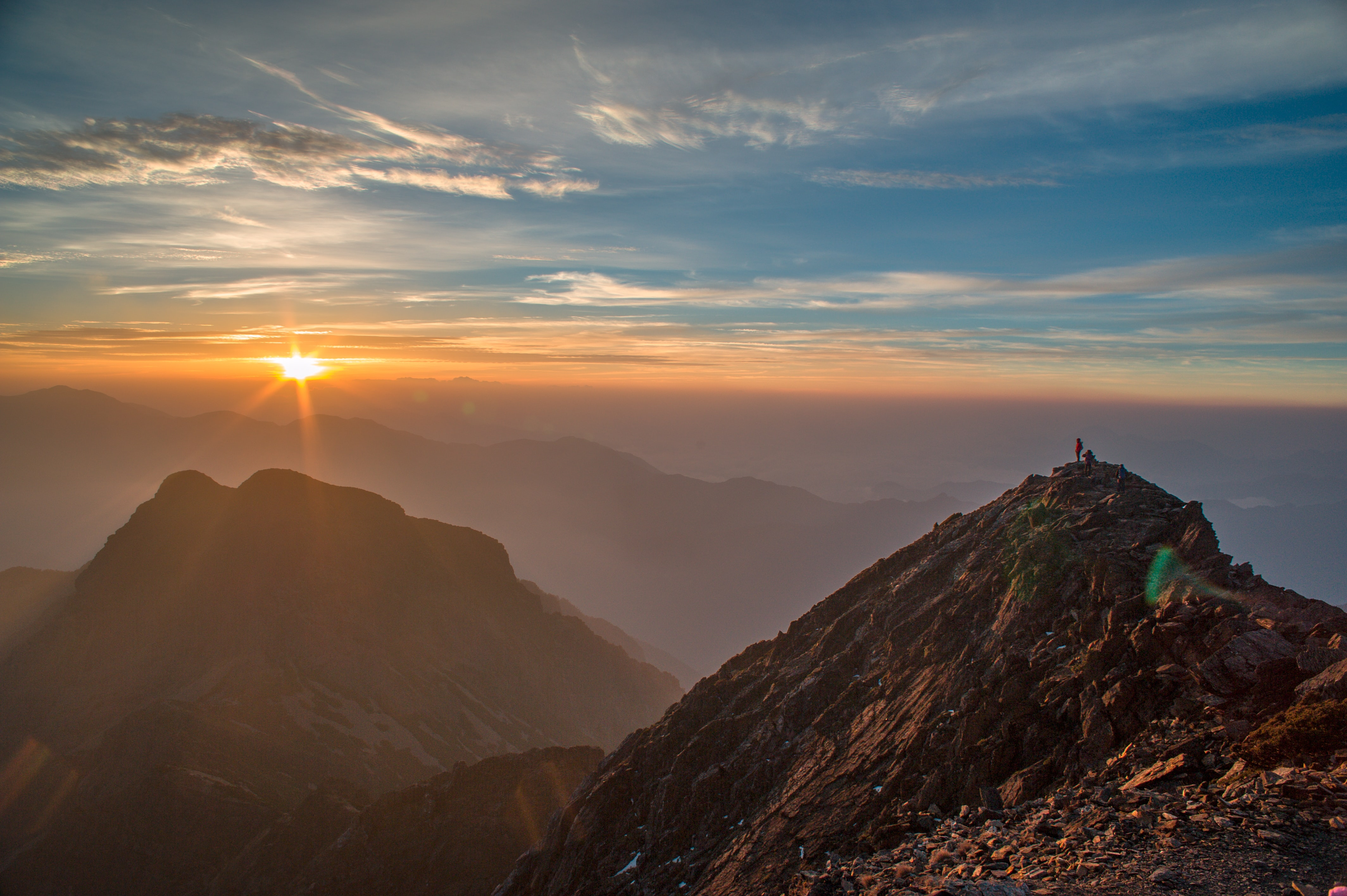 Jade Mountain Yushan Sunrise