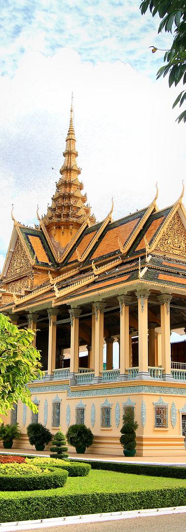 Phnom Penh - Royal Palace and Silver Pagod