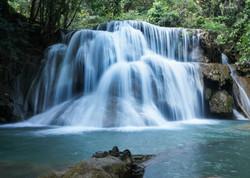 Huay Mae Khamin Waterfall Kanchanaburi