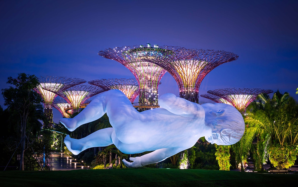 """Planet"" by Marc Quinn 