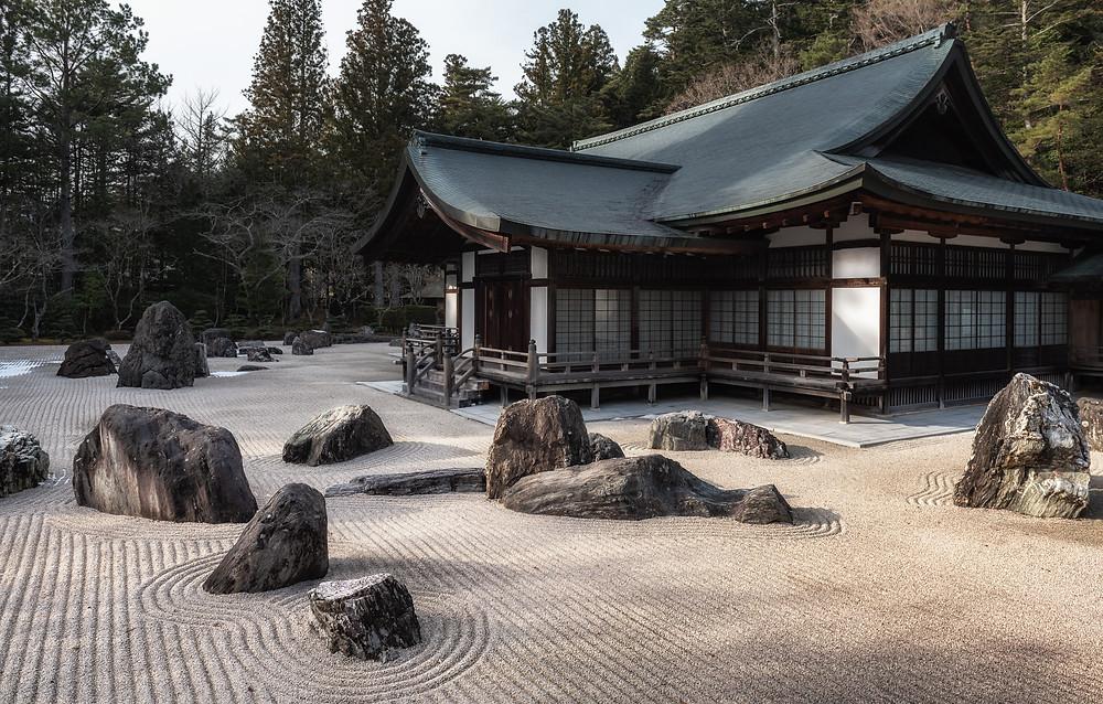 Kongobuji Temple is the head temple of Mount Koya