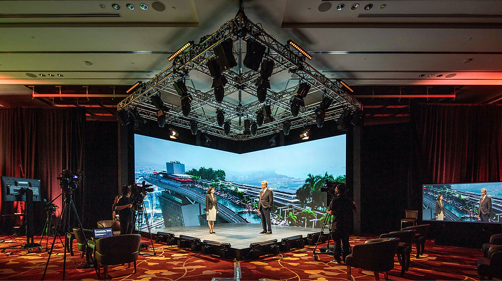 Marina Bay Sands' Hybrid Event Broadcast Studio by Biz Events Asia